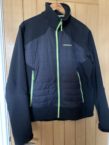 TrangoWorld Primaloft Walking Hiking Golf Black Jacket Medium Fit Exc Cond