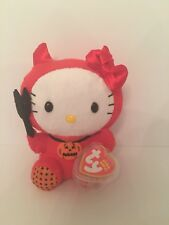 Ty Beanie Babies - Hello Kitty (Red Devil Costume)