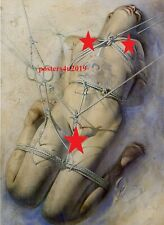 Sorayama Japanese Erotic Art Poster Print Pinup Girl Tattoo