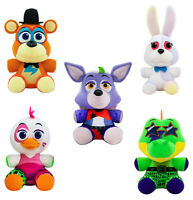 FNAF Five Nights at Freddy's SECURITY BREACH FUNKO PLUSH Set of 5