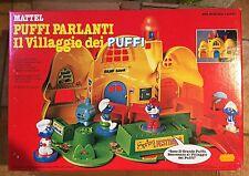 THE SMURFS I PUFFI IL VILLAGGIO DEI PUFFI PARLANTE MATTEL DEAD STOCK NEW!!!
