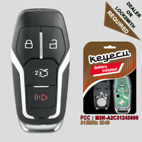 4 Button 315MHz Smart Remote Key M3N-A2C31243800 for 2015 - 2017 Ford Mustang