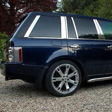 Chrome B C D fenêtre pilier couvre Kit 12pc pour Range Rover L322 2006+ Vogue HSE