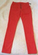 Women's Orange rue21 Jeggings Jeans Inseam 30 1/2 Size 5/6r 34j