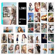 30pics set JESSICA LOMOCARDS KPOP CARD GIRLS GENERATION SNSD WITH LOVE J