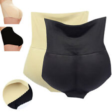 Women Sexy High Waist Seamless Butt Lift Enhancer Padded Underwear Body Shaper