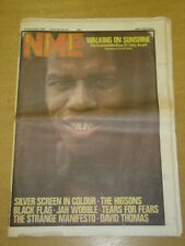 NME 1982 NOV 20 EDDY GRANT THE HIGSONS BLACK FLAG