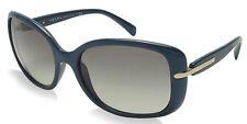 NEW Classy PRADA Blue Grey Gradient Sunglasses SPR 08O PR 08OS SL5-3M1 080 O8O