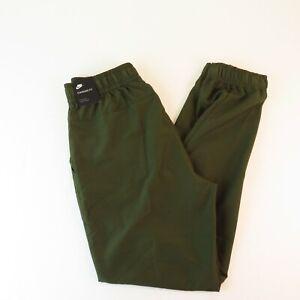 Nike NWT Boys XL Green Track Pants - Standard Fit 28x28 NEW