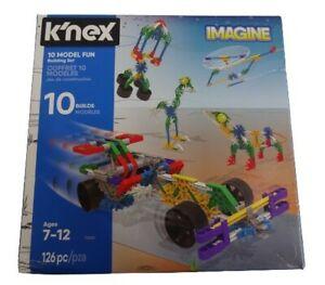 K'nex 10 Model Fun Building Set 7-12 Years (17009)