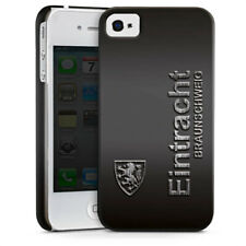 Apple iPhone 4 Premium Case Cover - Schrift Metall
