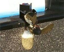 Trailer Hitch Propeller; Gold 3 Blade Marine Style Model 1300