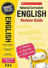 NEW Scholastic ENGLISH 9-10 (year 5) KS2 NATIONAL CURRICULUM REVISION GUIDE SATS