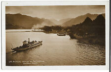 Steamer arriving at Patterdale RP PPC Unposted, GP Abraham, Shows SY Raven