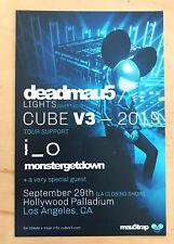 DEADMAU5 SEPT 29 2109  LA Handbill