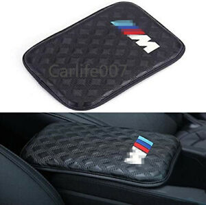 Car Armrest Cushion Soft Leather Auto Center Console Pad Cover fit for BMW