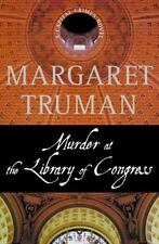 Murder at the Library of Congress Truman, Margaret hardcover  dj 1st