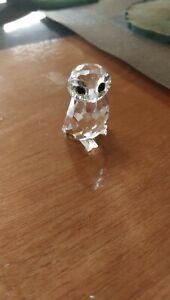Swarovski Figur Glas Eule 3,9cm