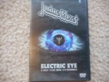 "JUDAS PRIEST ""ELECTRIC EYE"" DVD 13 VIDEO'S 19 LIVE TRACKS 6 TV PERFORMANCES"