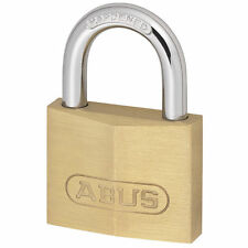 Job Lot of 4 Abus 713/50 Solid Brass Security 50mm Padlocks