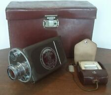 Bell & Howell Auto Master Filmo 16mm Motion Picture Camera w/ Wollensak Case +++