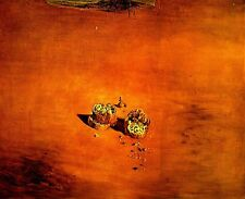 Salvador Dali,TWO PIECES OF BREAD SENTIMENT LOVE 1976,OFFSET,LITHOGRAPH PLSIGNED
