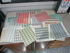 *$US 5c stamps 34 full sheets mint face value $90 discount postage collection