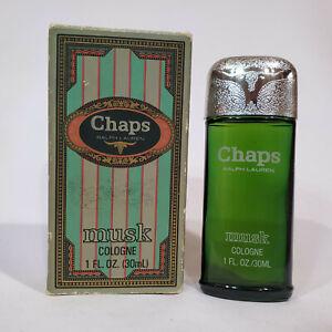 Chaps Musk by Ralph Lauren 1 oz / 30 ml cologne splash for men