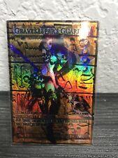 Yugioh Orica Parallel Gravekeeper's Guard Custom Foil Trading Card