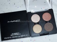 NIB MAC Eyeshadow x 4 Quad ~ NOTORIETY ~ Rare Palette ~Makeup Art Cosmetics LE
