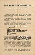 REPAS DE NOEL PAROISSE SAINT-PIERRE-DU-GROS-CAILLOU PARIS 1963