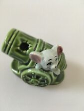 Retro Kitsch Mouse Ornament Foreign Japanese Cannon
