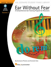 Ear Without Fear Vol 2 Ear Training Learn Music Lessons Book Online Audio