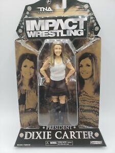 TNA Impact Wrestling President Dixie Carter Action Figure Jakks WWE AEW WCW