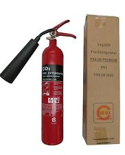 2 KG CO2 FIRE EXTINGUISHER BRITISH STANDARD OFFICE HOME ELECTRICAL KITEMARKED