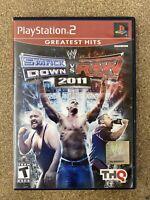 WWE SmackDown vs. Raw 2011 (Sony PlayStation 2, 2010) PS2 John Cena The Miz