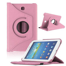 For Samsung Galaxy Tab4 7 Inch Tablet T230 Leather Case Rotating 360 Case Cover