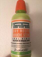 16.9 OZ NEW FLAVOR Therabreath Mild Mint Oral Rinse Liquid Dry Mouth Bad Breath