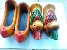 Korean tradition woodcarving  mandarin duck  & Women's Shoes