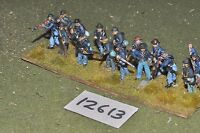25mm ACW / union - american civil war infantry plastic 15 figs - inf (12613)