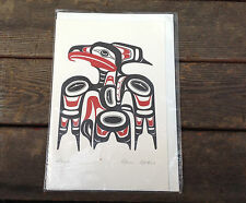 "Canadian Art Card Series No. 3080 ""Hawk"" by Alvin Adkins"