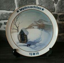 VP1-1) Rosenthal Porzellan Weihnachten 1929 Heinrich Fink Lithophanie Gebirge ++