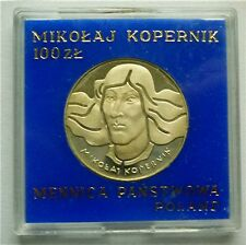 1974 POLAND - 100 ZLOTYCH - MIKOLAJ KOPERNIK 500 YRS. BIRTH - PROOF SILVER