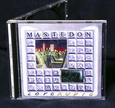 MASTEDON LOFCaudio 1990 CD JOHN ELEFANTE DAVE AMATO