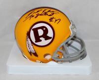 Billy Kilmer Signed Redskins 70-71 TB Mini Helmet W/ 70 Greatest- Jersey Source