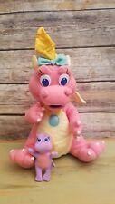"Hasbro Playskool Dragon Tales Cassie Plush Stuffed Animal Vintage Toy & Baby 12"""