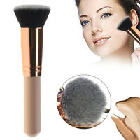 Pro Face Cosmetic Powder Makeup Blush Brush Flat Top Kabuki Foundation Tool