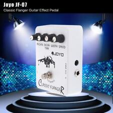 JOYO JF-07 Classic Flanger Gitarren Effekt Pedal mit True Bypass Design D3G7