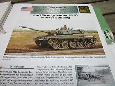 Archiv Militärfahrzeuge schwere Panzer 3.1 Aufklärungspanzer M 41 Walker Bulldog