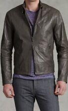 BN JOHN VARVATOS Men's Leather Jacket Size 46 RRP £1650